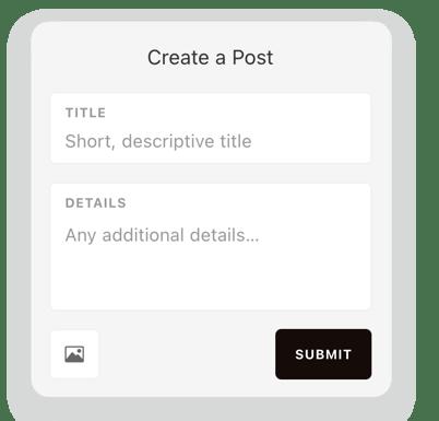 Create Post Integration